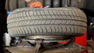 Change of tires