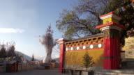 Chaoyang Tower in Dukezong Temple, Shangri-La, Yunnan, China