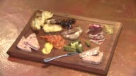 Charcuterie board with meats and cheese at Chicago restaurant River Roast