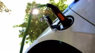 HD: Charging An Electric Car