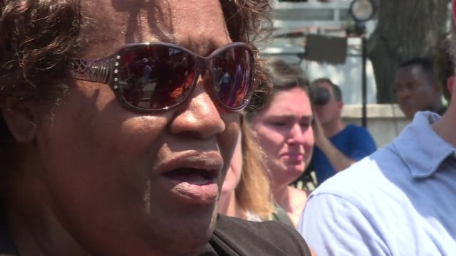 Charleston residents gathered for a vigil Thursday to mourn the loss of nine people killed when a gunman opened fire in a historical black churche in...