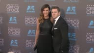 Charlie Webster and Allen Leech at the 20th Annual Critics' Choice Awards at Hollywood Palladium on January 15 2015 in Los Angeles California
