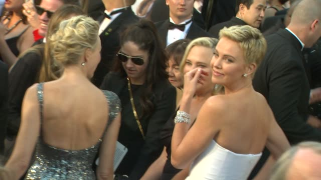 Charlize Theron at 85th Annual Academy Awards Arrivals in Hollywood CA on 2/24/13
