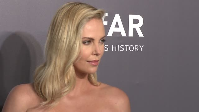 Charlize Theron at amfAR Hong Kong Gala 2017 at Shaw Studios on March 25 2017 in Hong Kong Hong Kong
