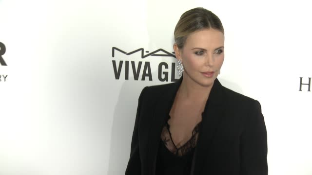 Charlize Theron at amfAR's Inspiration Gala Los Angeles 2016 in Los Angeles CA