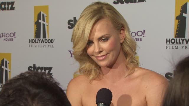 Charlize Theron at the 13th Annual Hollywood Awards Gala at Beverly Hills CA