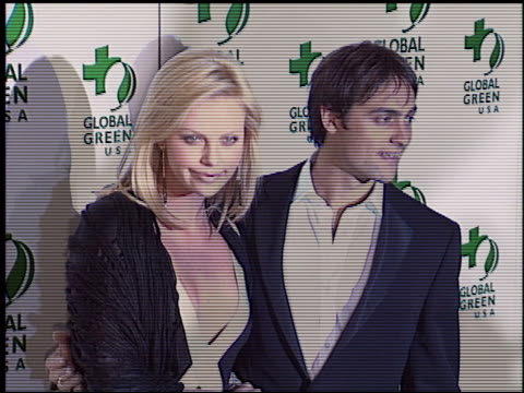 Charlize Theron at the 2004 Global Green Millennium Awards at the St Regis Hotel in Los Angeles California on March 24 2004