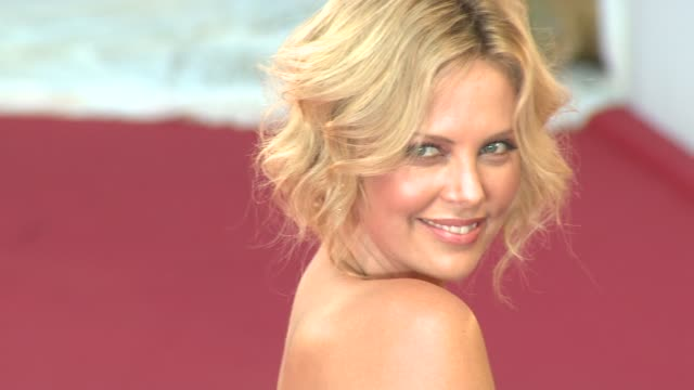 Charlize Theron at the 65th Venice Film Festival The Burning Plain Red carpet premiere at Venice