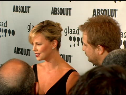 Charlize Theron at the GLAAD Awards at the Kodak Theatre in Hollywood California on April 8 2006