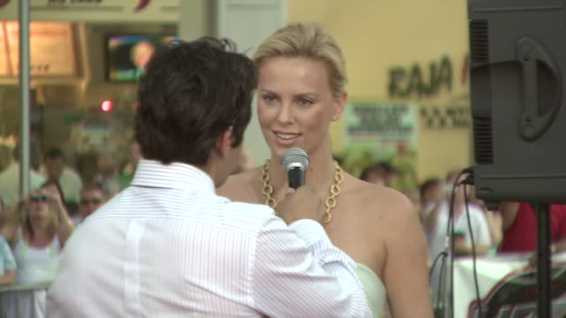 Charlize Theron at the 'Hancock' Premiere @ the Chinese Theatre at Hollywood California