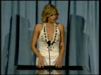 Charlize Theron on being a working actor at the 2006 Annual Academy Awards Nominees Luncheon at the Beverly Hilton in Beverly Hills California on...