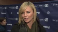 Charlize Theron on being grateful that their film was included in the festival at the 2008 Sundance Film Festival premiere of 'Sleepwalking' at the...