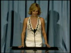 Charlize Theron on being nominated again at the 2006 Annual Academy Awards Nominees Luncheon at the Beverly Hilton in Beverly Hills California on...