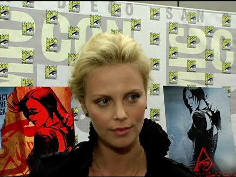 Charlize Theron on her Emmy Nomination for 'The Life and Death of Peter Sellers' her training for the film her thoughts on the world of anime and...