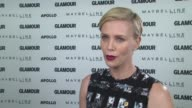 INTERVIEW Charlize Theron on her role with Glamour and helping educate girls across the world at Glamour's The Power Of An Educated Girl With Special...