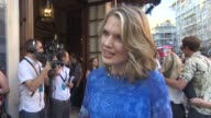 INTERVIEW Charlotte Hawkins on reading the book Tony Awards Wimbledon the weather at The Curious Incident of the Dog in the NightTime ' Cast Change...