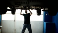 Charming mechanic man