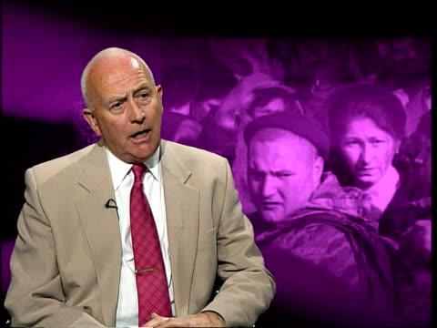 Russian advances ITN ENGLAND London GIR Professor Peter Frank interview SOT Talks of Russian military operations
