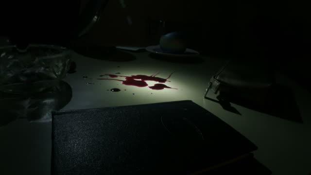 CSI checking blood
