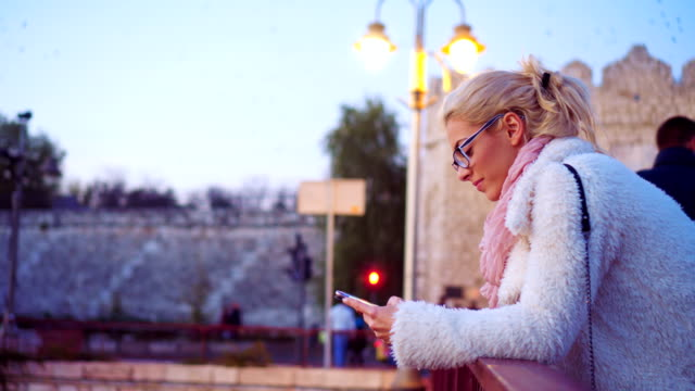 Checking texts while waiting