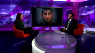 Ched Evans announces wish to return to professional football ENGLAND London GIR INT Charlie Webster LIVE studio interview SOT