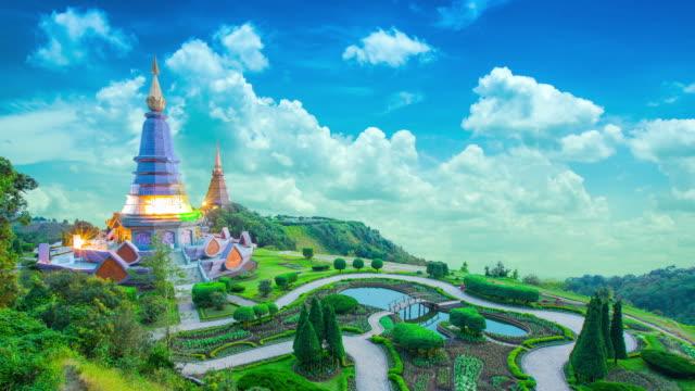 Chedi Doi Inthanon Thailand.