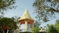 Chedi of Wat Na Phra Lan temple