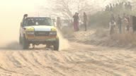Cheered on by tens of thousands of spectators 4x4s tear through Pakistans deserts in the 9th edition of the Cholistan Desert Rally CLEAN Pakistan...