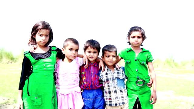 Cheerful Childrens Portrait