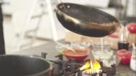 Koch Kochen Fleisch-Soße