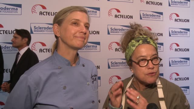 "INTERVIEW Chef Mary Sue Milliken and Chef Susan Feniger on the event the cuisine the impact of the event at ""Cool Comedy / Hot Cuisine"" An Evening..."