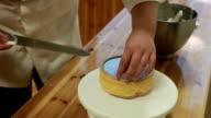 chef passare al forno Torta da Alzata per torte