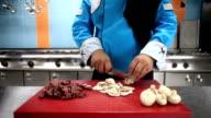 HD: Koch die Speisen in der Küche