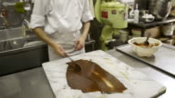 MS Chef tempering chocolate / Kyoto, Japan