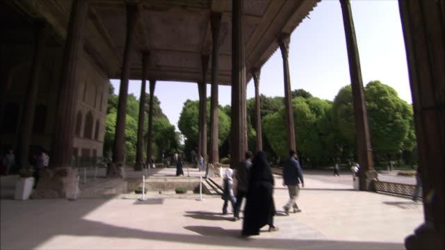 MS TU TD Chehel Sotoun pavilion, Isfahan, Iran