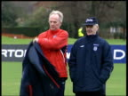 Abramovich signs more players ITN England manager Sven Goran Eriksson on training pitch