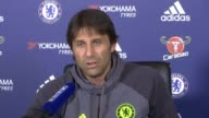 Chelsea expected to take lead at top of Premier League Chelsea expected to take lead at top of Premier League Antonio Conte press conference SOT