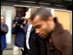 Chelsea FC and Ashley Cole fined by Premier League for 'tapping up' ENGLAND London MS BVs Ashley Cole arriving at Premier League HQ to hear verdict...