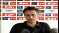 Mourinho and Abramovich embrace in public after semifinal victory 1342007 London INT Jose Mourinho press conference SOT I want to stay at Chelsea / I...
