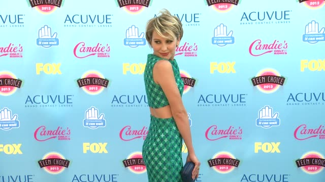 Chelsea Kane at 2013 Teen Choice Awards Arrivals on 8/11/2013 in Universal City CA