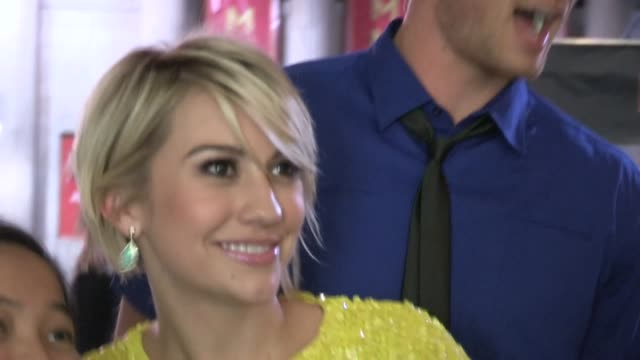 Chelsea Kane Derek Theler greets fans at the Iron Man 3 After Party in Hollywood 04/24/13