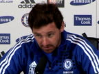 Chelsea manager Andre VillasBoas previews Chelsea's next game against Liverpool the current race rows and why he won't appear before the FA after he...