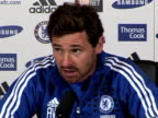 Chelsea Manager Andre VillasBoas previews Chelseas next game against Liverpool race rows and why he on November 19 2011 in London England