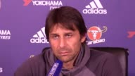 Chelsea manager Antonio Conte looks ahead to his side's Premier League clash against Middlesbrough on Monday