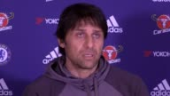Chelsea manager Antonio Conte previews their Premier League clash against Stoke on Saturday