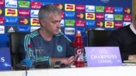Chelsea manager Jose Mourinho says he feels he retains the support of owner Roman Abramovich despite the looming risk of Champions League elimination