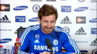 Chelsea press conference Andre VillasBoas continued SOT playing at home Our home form has not been spectacular / re goal line technology I agree with...
