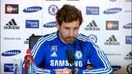 Surrey Cobham INT Andre Villas Boas sitting at press conference Andre VillasBoas speaking SOT re conceding late goals in last couple of games I went...