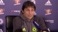 Chelsea preview press conference with manager Antonio Conte ahead of their Premier League match against Crystal Palace