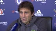 Chelsea take Christmas break ahead of Bournemouth match ENGLAND London Stamford Bridge INT Antonio Conte press conference SOT